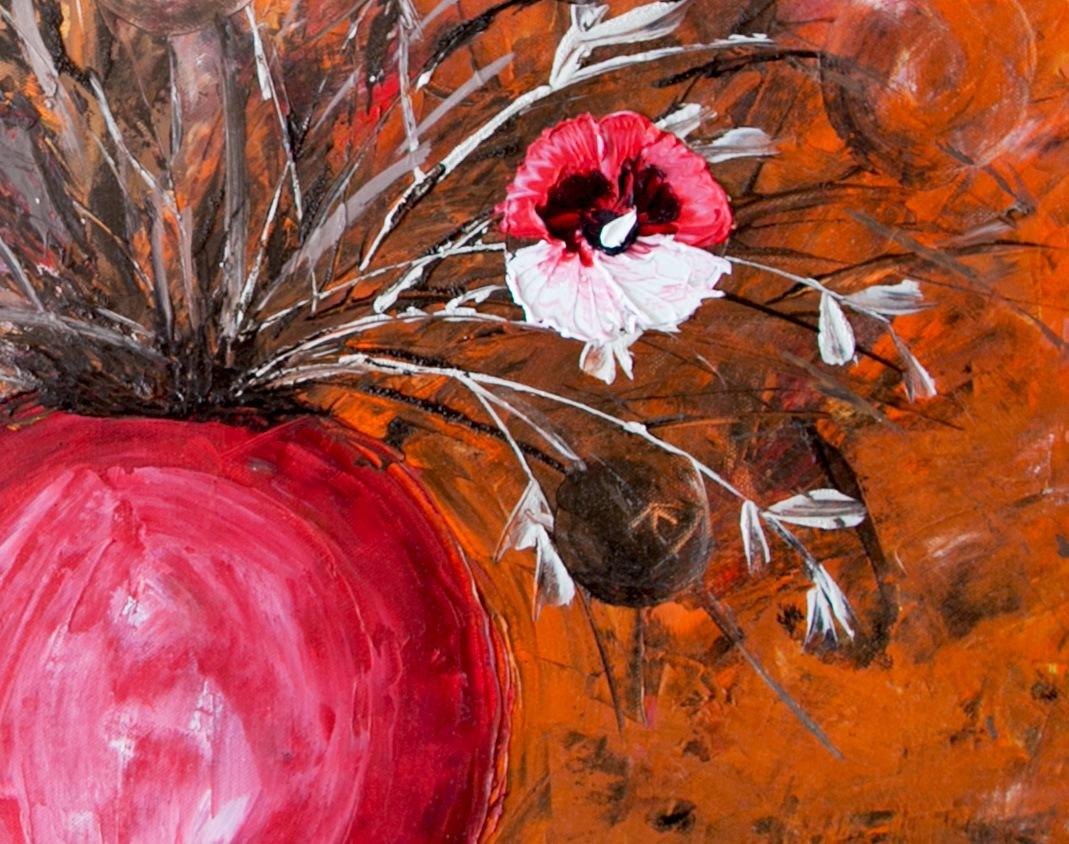 Luční květy detail