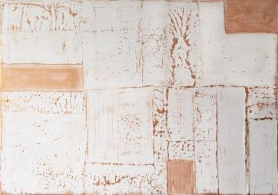 Stopa dřeva - Katarína Regešová - abstraktní obrazy