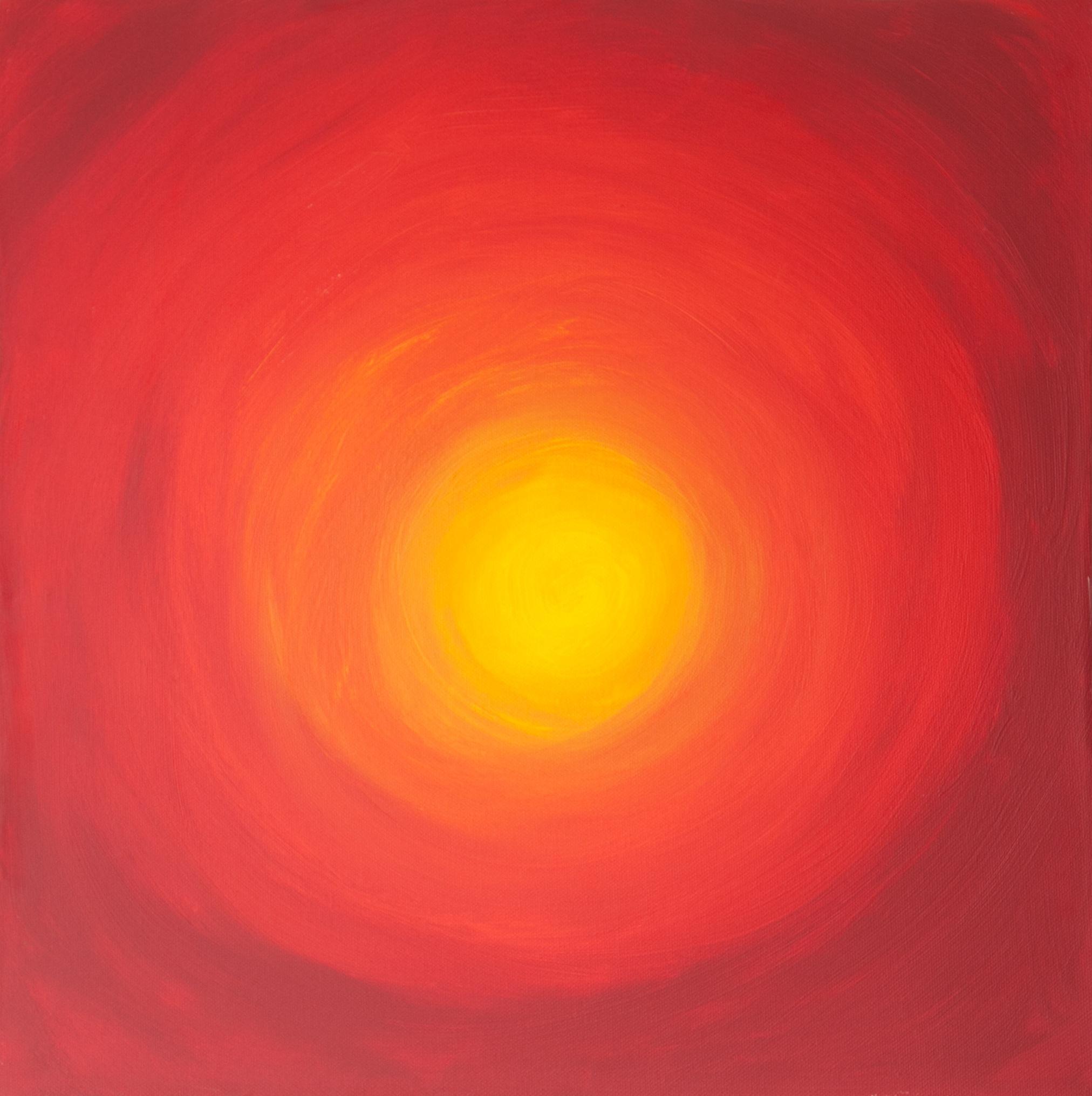 obraz Večerní slunce
