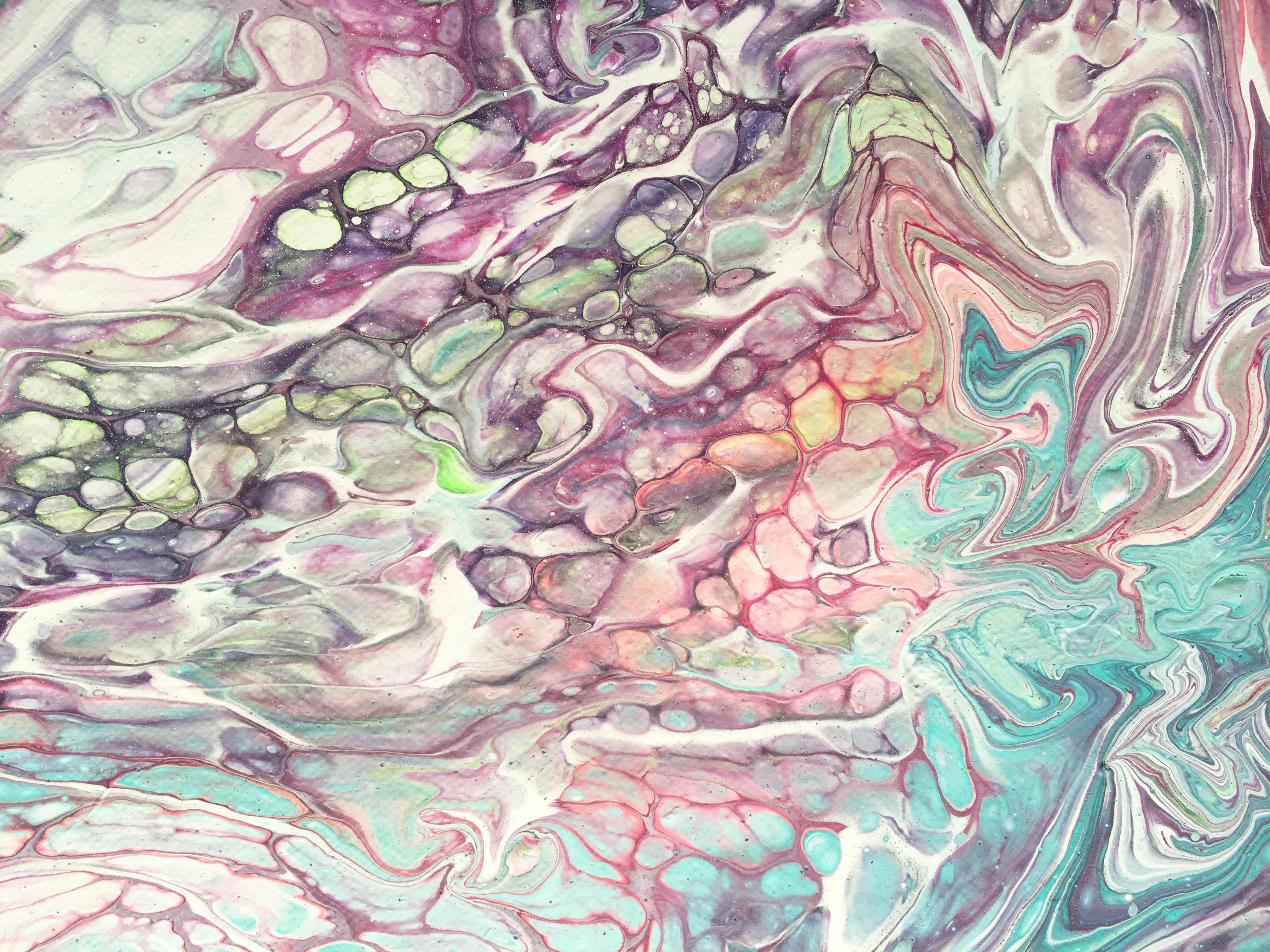 Buňky moře detail - Katarína Regešová