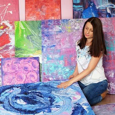 Katarína Regešová - moje obrazy