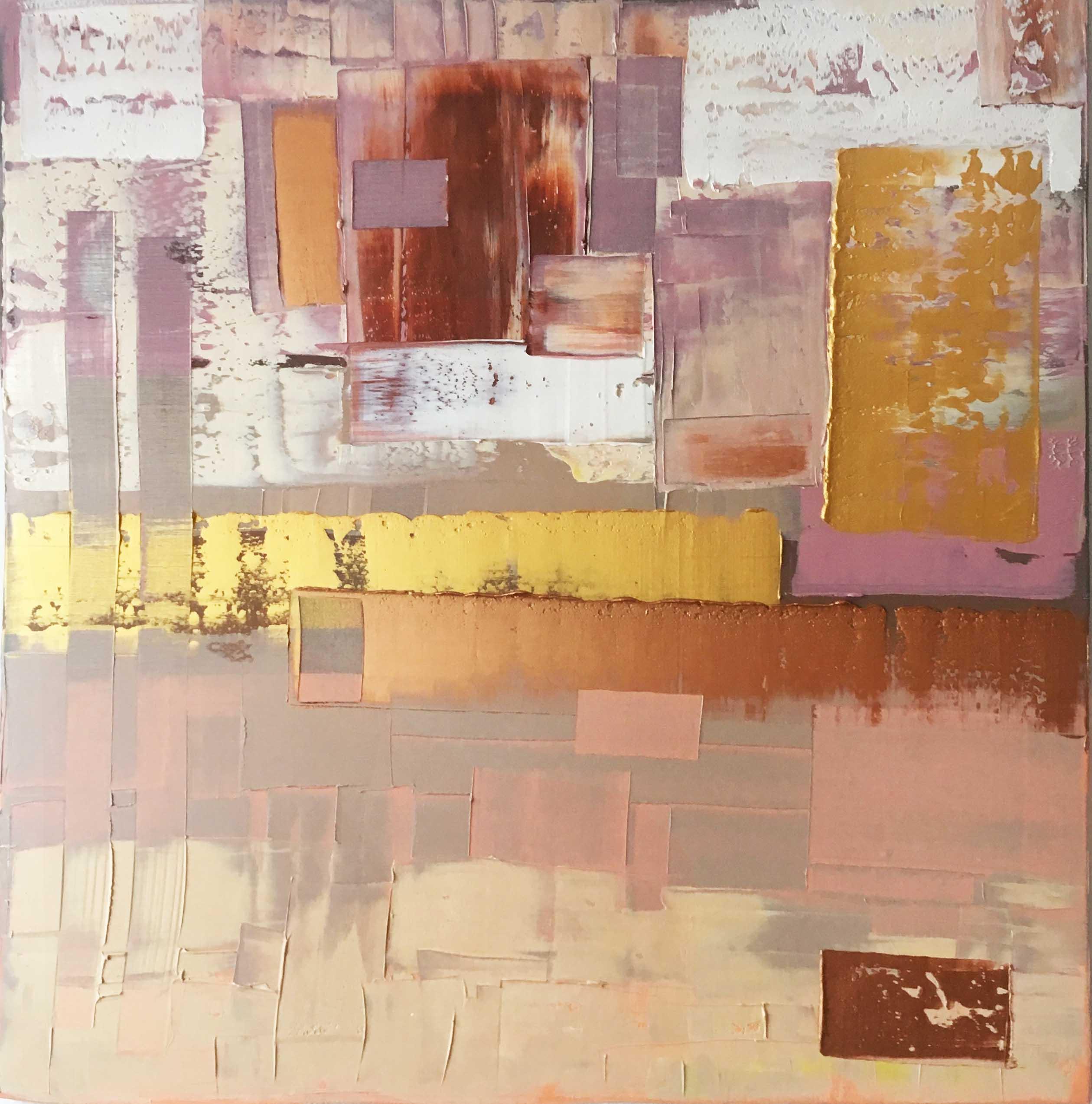 abstraktní obrazy - Katarína Regešová