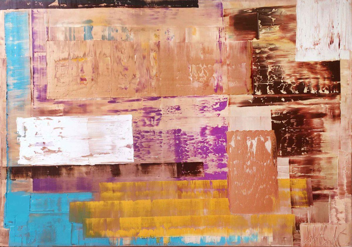 Katarína Regešová - abstraktní obrazy