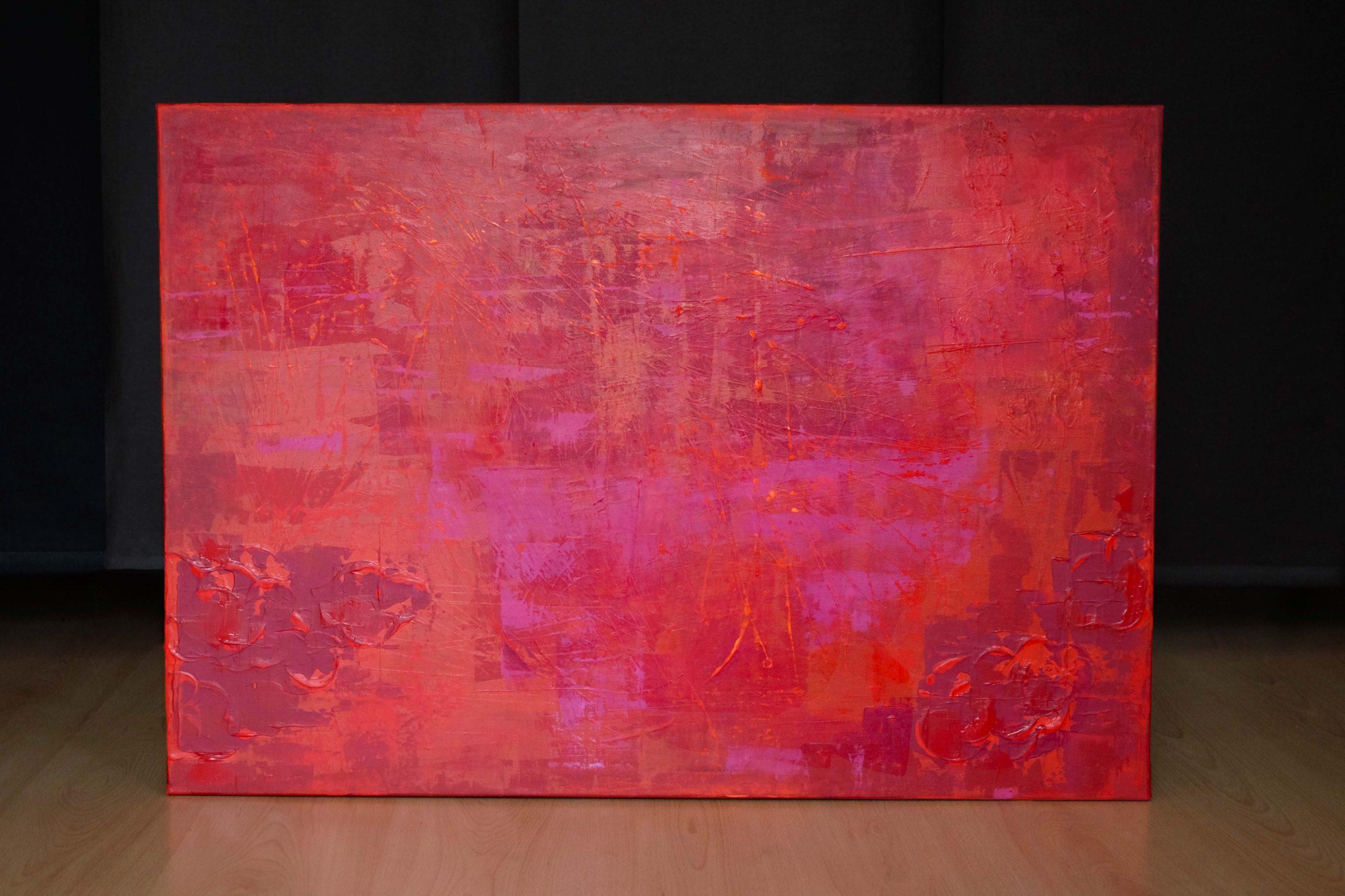 Plameny lásky, Originální obrazy a olejomalby na plátně