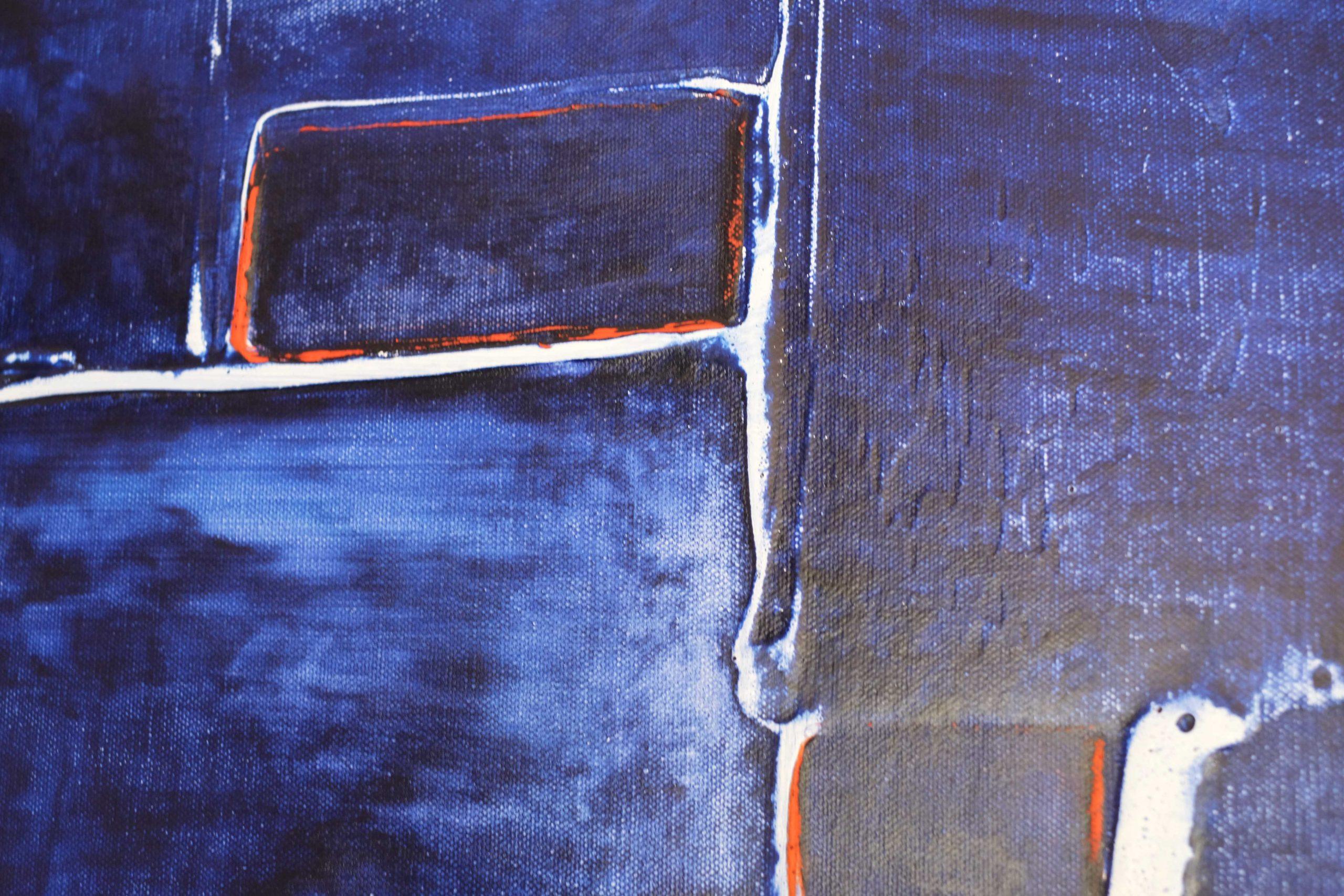 Akryl na plátně