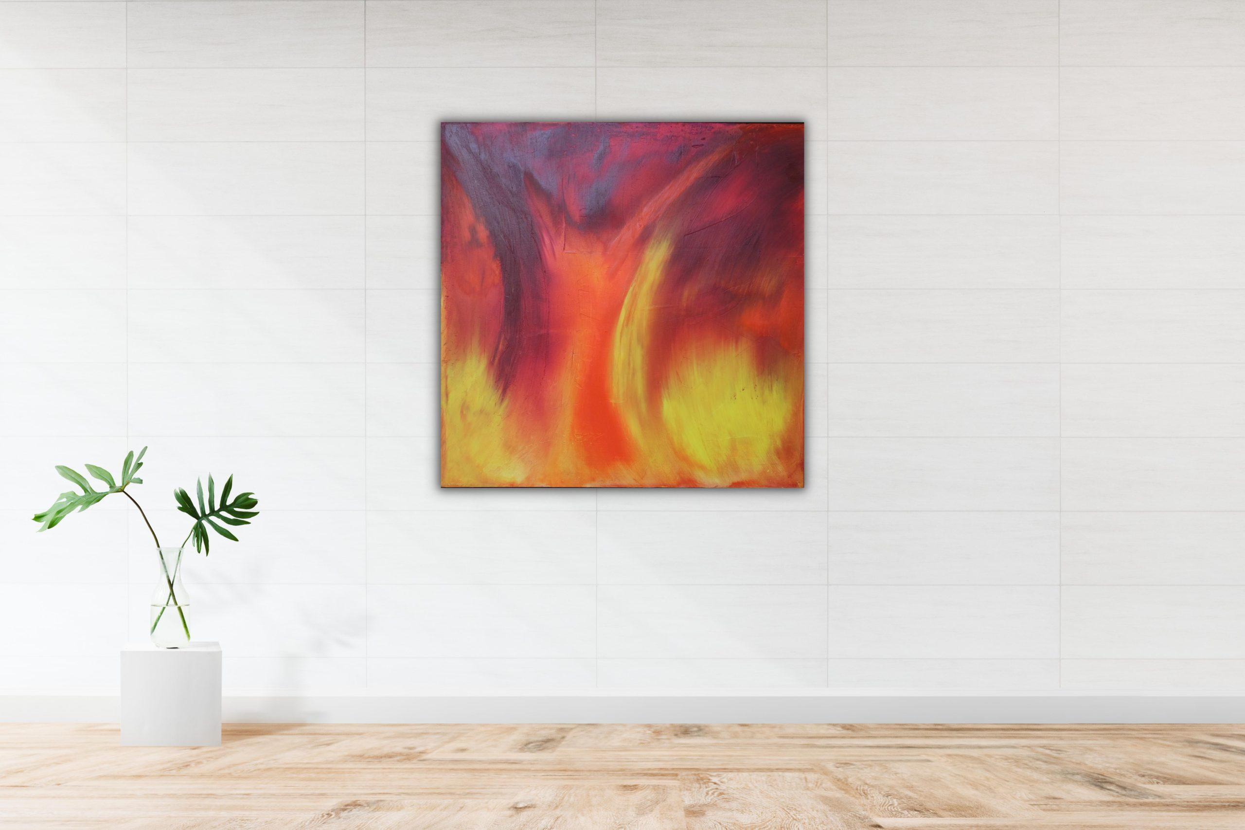 Original obraz, abstrakce - Adellny art